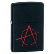 Zippo Anarchy Black Matte Windproof Lighter