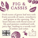 Wild Fig & Cassis (Fragrant Orchard Collection) Glass Candle - Image 3