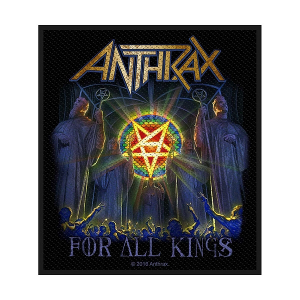 Anthrax - For All Kings Standard Patch