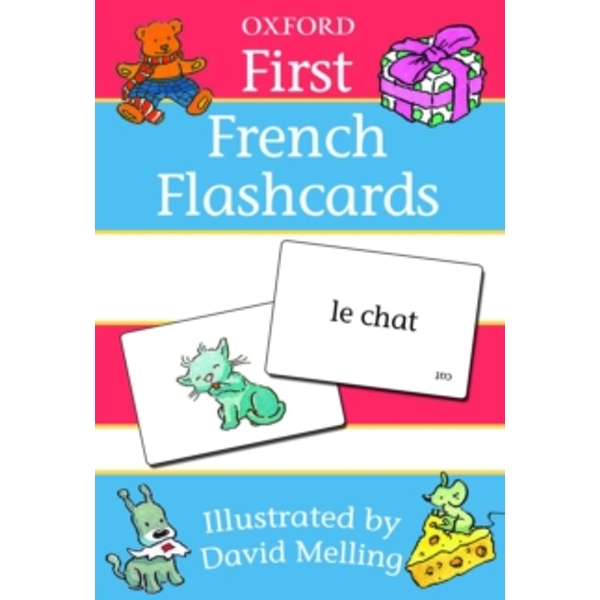 OXFORD FIRST FLASHCARDS by Oxford University Press (Paperback, 2010)