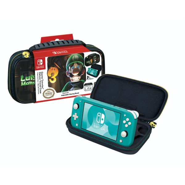 Luigi's Mansion 3 Deluxe Travel Case for Nintendo Switch Lite