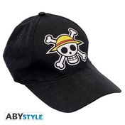 One Piece - Skull  Snapback Cap - Black