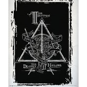Harry Potter Deathly Hallows Graphic Mini Poster