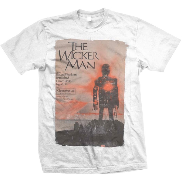 StudioCanal - The Wicker Man Unisex Large T-Shirt - White