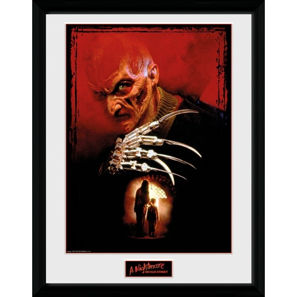 Nightmare On Elm Street Collage Collector Print