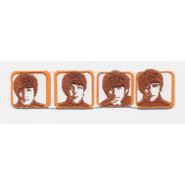 The Beatles - Heads in Boxes Standard Patch