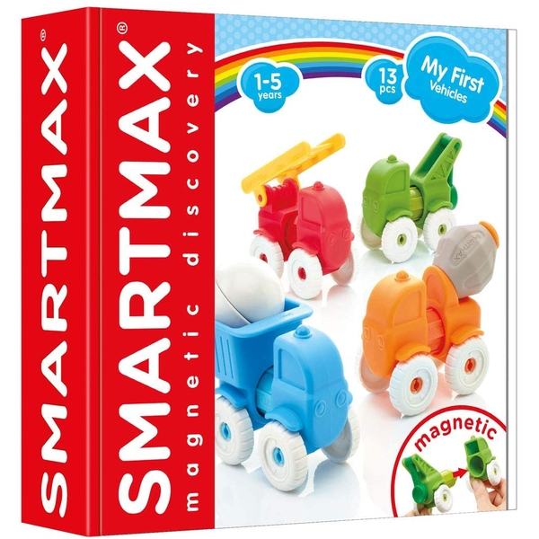 SmartMax My First Vehicles Magnetic Discovery Set