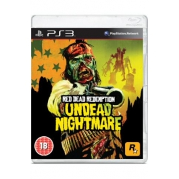 Ex-Display Red Dead Redemption Undead Nightmare Game PS3 Used - Like New