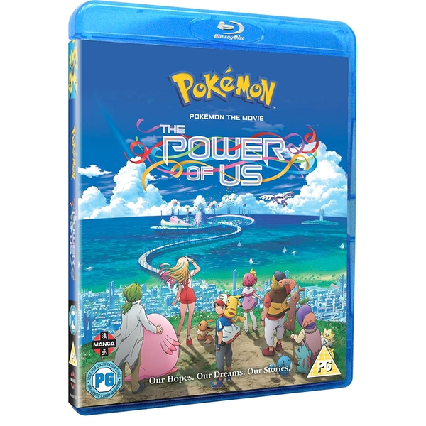 Pokemon the Movie: The Power of Us Blu-ray - 365games co uk