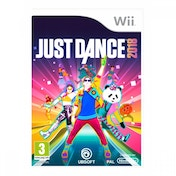 Ex-Display Just Dance 2018 Wii Game Used - Like New