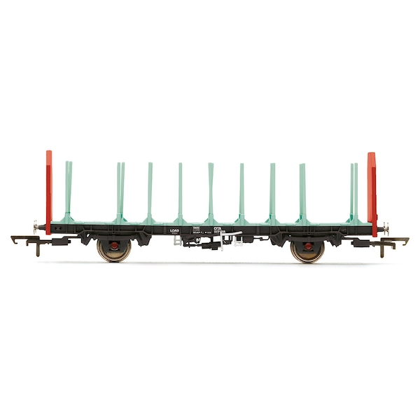 Hornby OTA Timber Wagon (Parallel Stanchions) EWS 112188 Era 9 Model Train