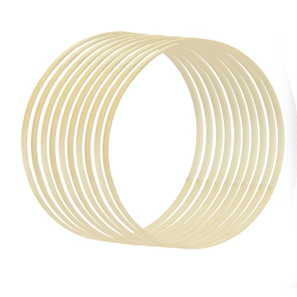 Bamboo Craft Rings - Set of 10 | Pukkr