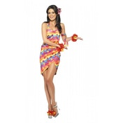 Hawaiian Party Girl Costume Small