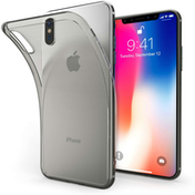 Apple iPhone X Ultra Thin Gel - Smoke Black