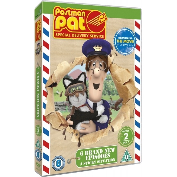 Postman Pat Special Delivery Service Series 2 Volume 3 DVD