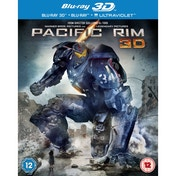 Pacific Rim 3D Blu Ray & UV