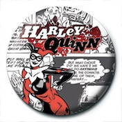 Harley Quinn - AKA Badge
