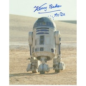 Star Wars Personally Signed 10X8 - Kenny Baker As R2D2