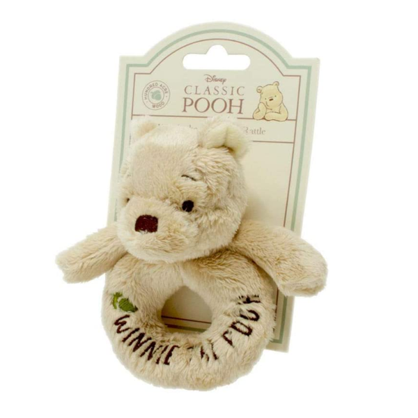 Hundred Acre Wood Winnie the Pooh Ring Rattle