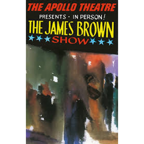 James Brown ‎– Live At The Apollo Cassette