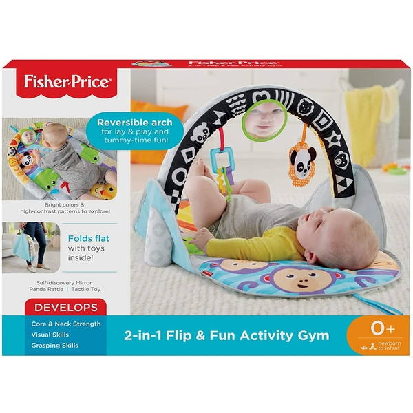 Fisher Price 2-in-1 Flip and Fun Baby Activity Gym