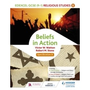 Edexcel Religious Studies for GCSE (9-1): Beliefs in Action (Specification B) by Robert M. Stone, Victor W. Watton (Paperback, 2016)