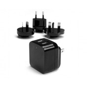 StarTech Dual Port USB High Power 17W International Wall Travel Charge (Black)