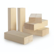 Basswood Carving Blocks - Set of 10 | Pukkr