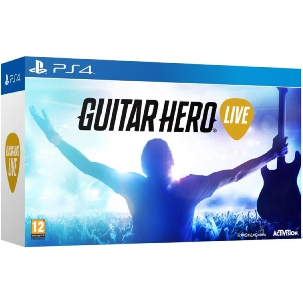 Guitar Hero Live with Guitar Controller PS4 Game