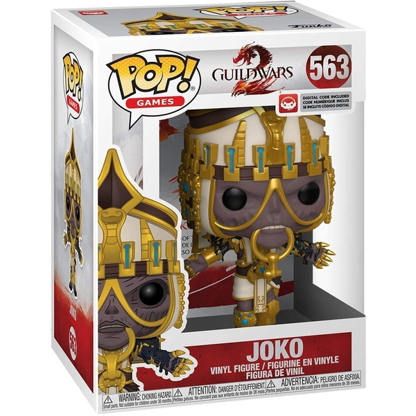 Joko (Guild Wars 2) Funko Pop! Vinyl Figure #563