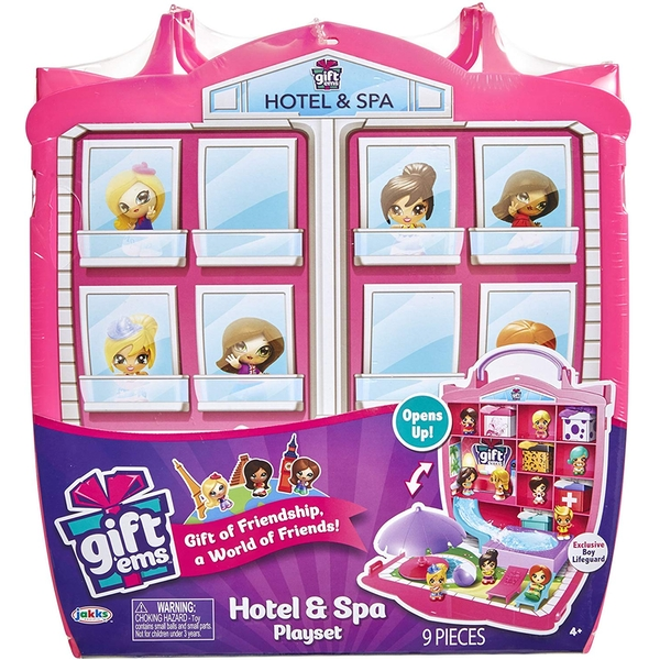 Gift 'Ems Gift Hotel & Spa Playset