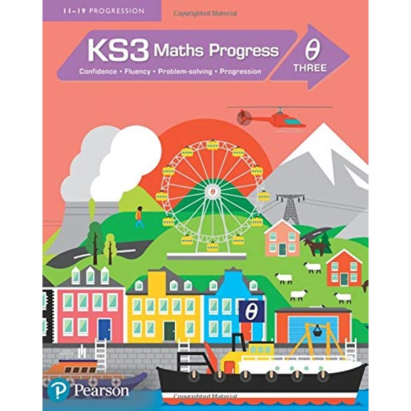 KS3 Maths Progress Student Book Theta 3 by Pearson Education Limited (Paperback, 2014)