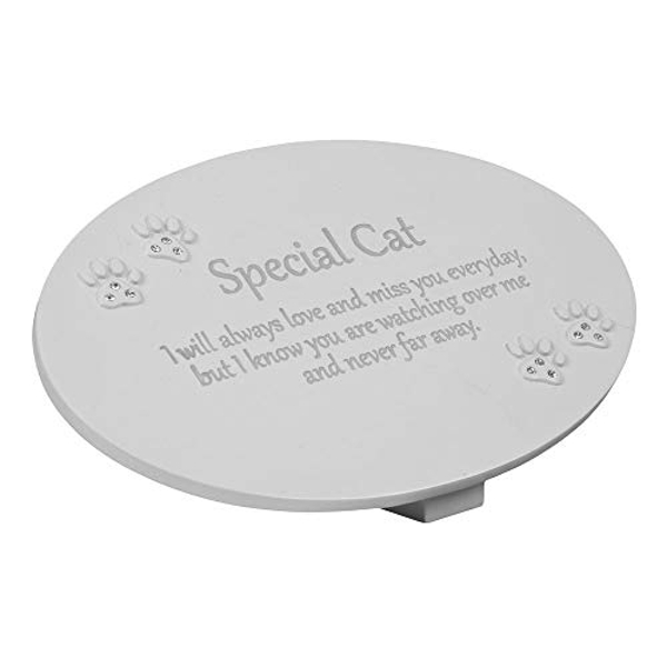 Thoughts of You Resin Memorial Plaque - Cat
