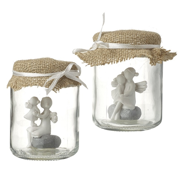 Angel Decoration In Jar By Heaven Sends