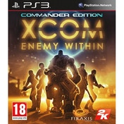 XCOM Enemy Within Commander Edition Game PS3