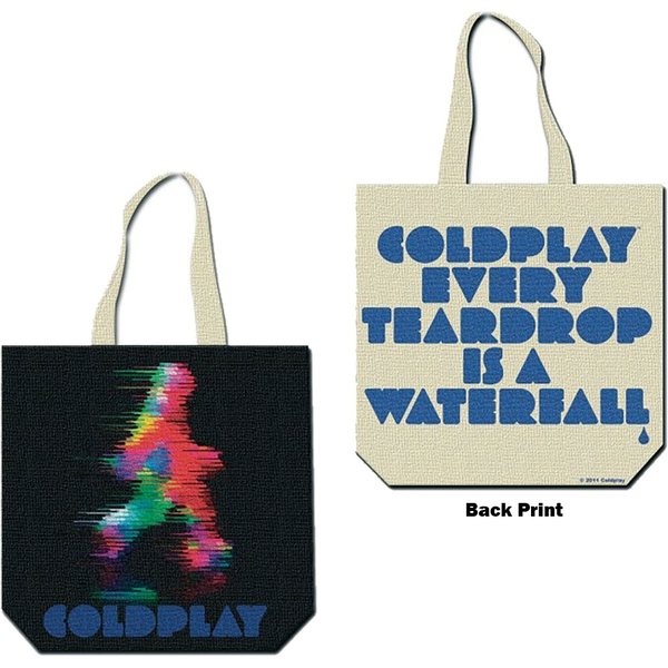 Coldplay - Fuzzy Man/ETIAW Cotton Tote Bag