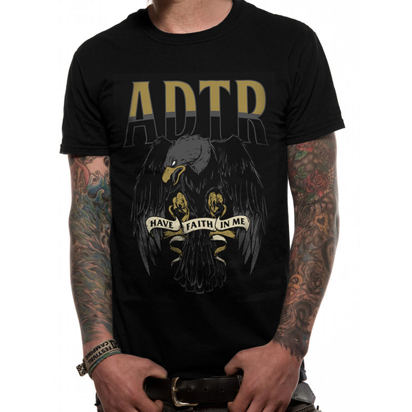 A Day To Remember - Faith Eagle Men's Medium T-Shirt - Black