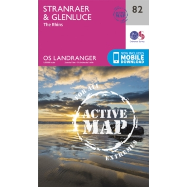 Stranraer & Glenluce by Ordnance Survey (Sheet map, folded, 2016)