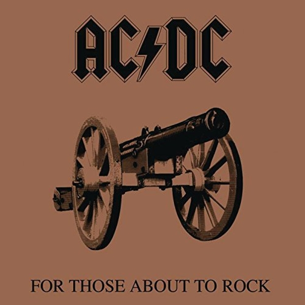 For Those About To Rock  - AC DC CD