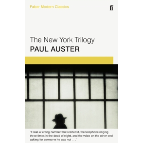 The New York Trilogy : Faber Modern Classics