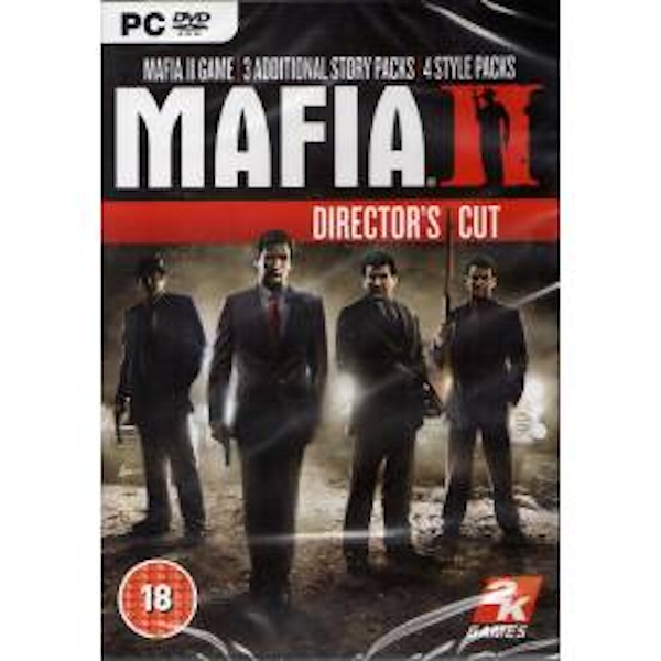 Mafia II 2 Directors Cut Game PC