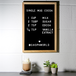 Felt Letter Board Message Sign | Pukkr 12x18In - Image 2