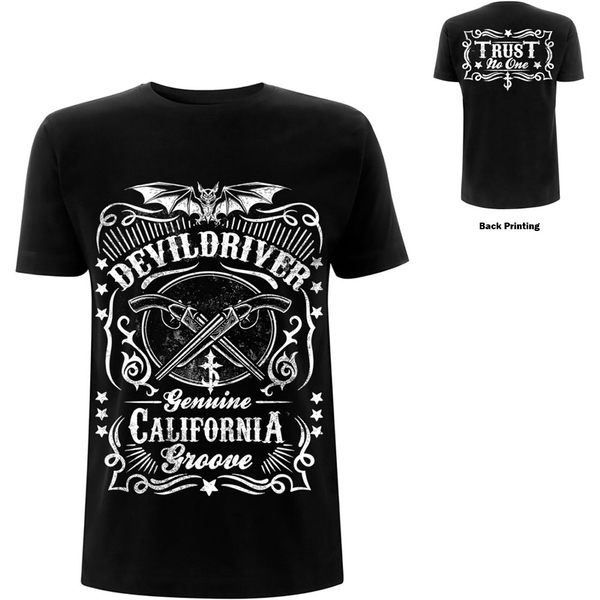 DevilDriver - Sawed Off Unisex Medium T-Shirt - Black