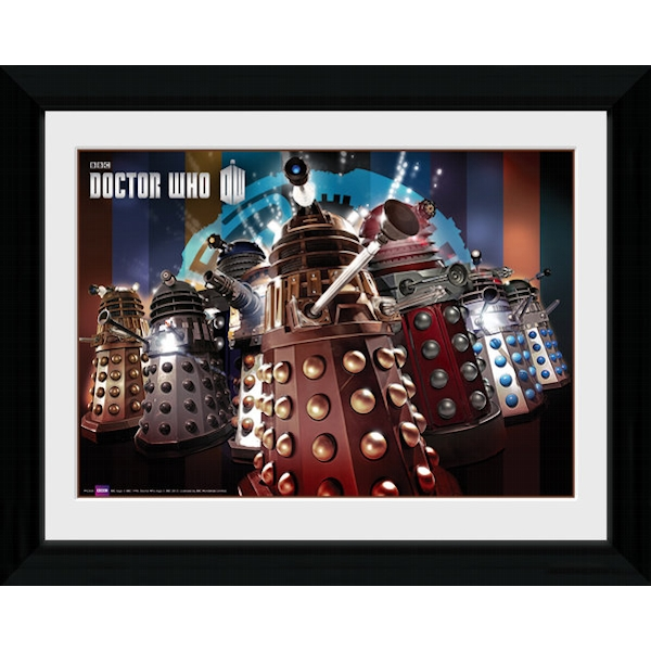 Doctor Who Daleks 30 x 40cm Framed Photographic Print