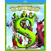 Shrek: The 4-Movie Collection (2018 Artwork Refresh) Blu-ray