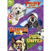 Dogs Triple - Pups United/Vampire Dog/Pudsey The Dog Movie DVD