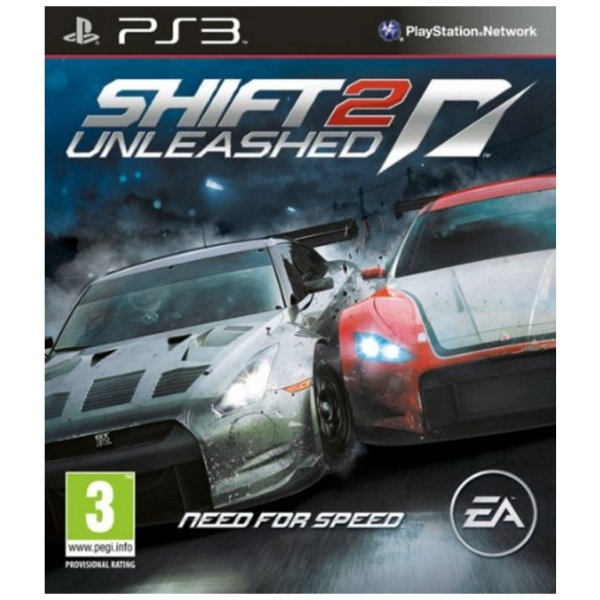 Need For Speed NFS Shift 2 Unleashed Game PS3