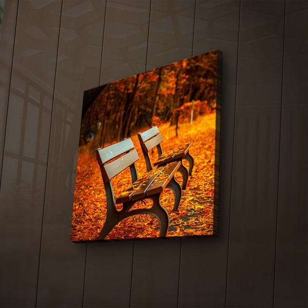 2828?ACT-55 Multicolor Decorative Led Lighted Canvas Painting