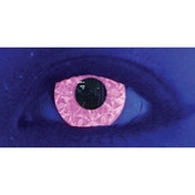 UV Pink Ruki 3 Month Coloured Contact Lenses (MesmerEyez MesmerGlow)