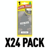 City Style (Pack Of 24) Little Trees Air Freshener